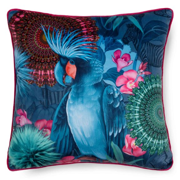 7128-H, OFELIA, multi filled pillow square front
