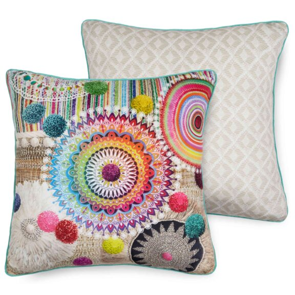 7159-H, INESSA, multi filled pillow square