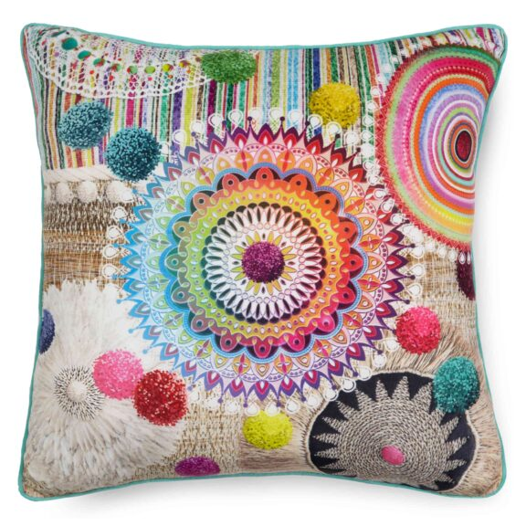7159-H, INESSA, multi filled pillow square front