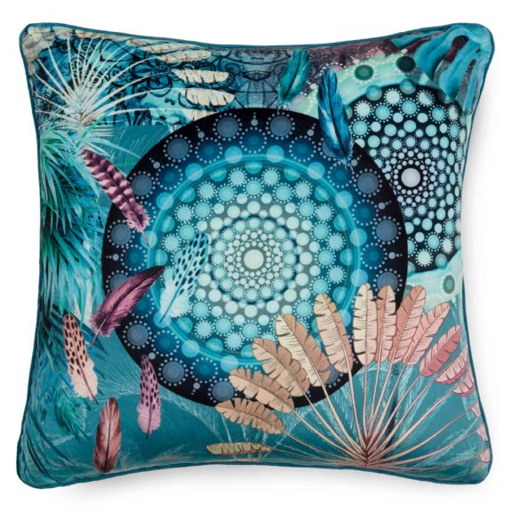 7178-H, KANYA, multi filled pillow square front